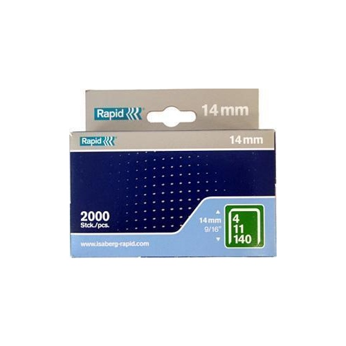 Staple No140 14mm Bx2000 Rapid