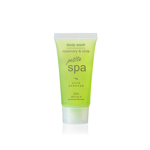 Body Wash Spa Petite 20ml Tubes 300 units Rosemary & Olive