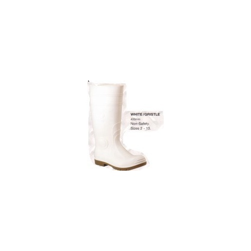 White/Gristle Gumboot 6 400mm