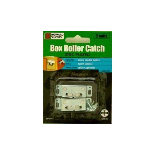 Catch Box Roller Zinc Plated 16x48 2pack