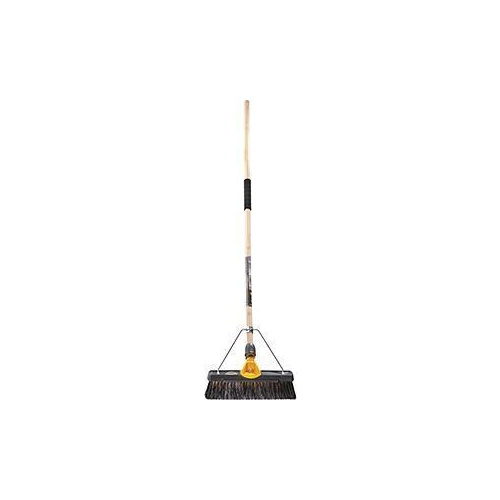 Broom Medium Stiff Titanium 350mm