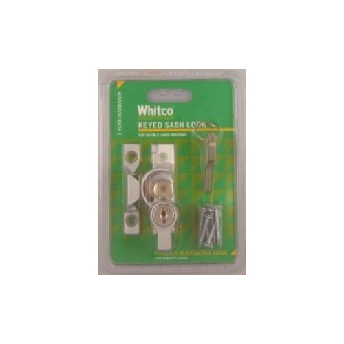 Lock Sash Key Dble Hung SCP Cd