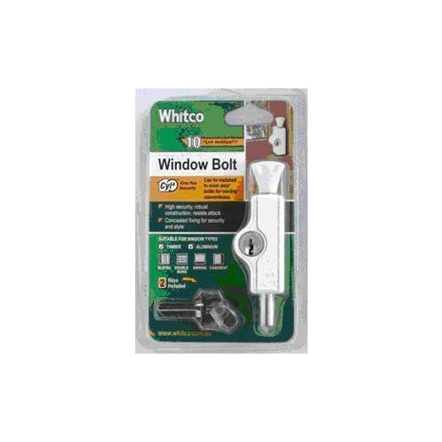 Bolt Window Cyl4 White 1pack
