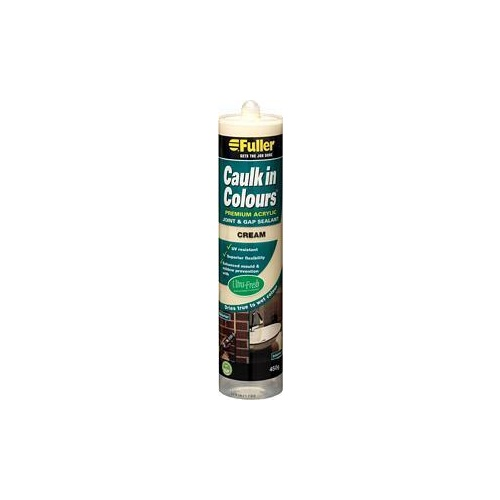 Filler Caulk In Colours Cream 450g
