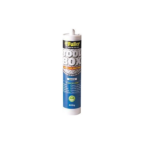 Adhesive Sealant Toolbox White 400g