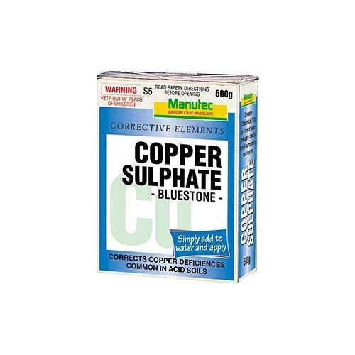 Copper Sulphate Soluble 500g