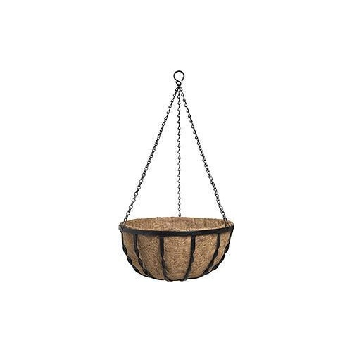 Hanging Basket Black Forged 40cm