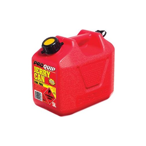 Proquip Can Fuel Plastic ULP Red 5L t