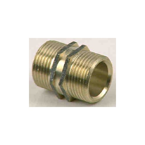 Brass Hexagon Nipple 5np020 3/4in