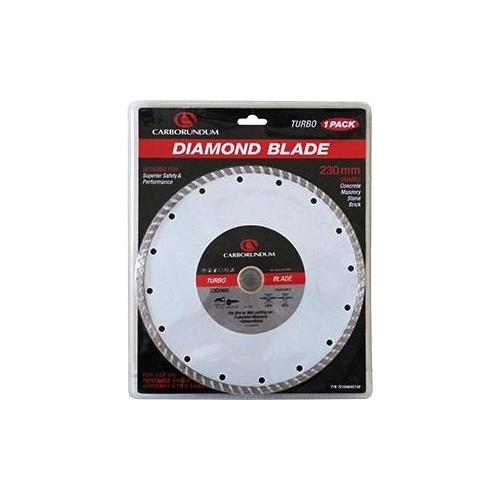 Carborundum Blade Diamond Turbo 230x25. 4/22