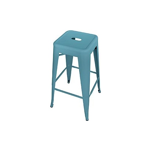 Replica Retro Bar Stool Blue