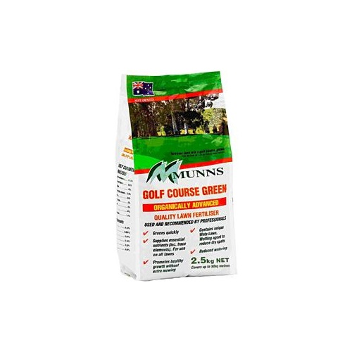 Lawn Fertiliser Golf Course Green 2.5kg
