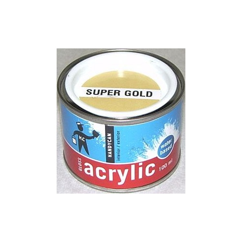 Acrylic Gloss Gold 100ml