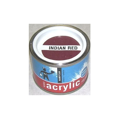 Acrylic Gloss Indian Red 100ml