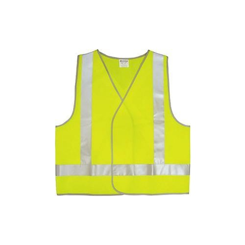 Vest Safety Hivis Yellow Xlarge