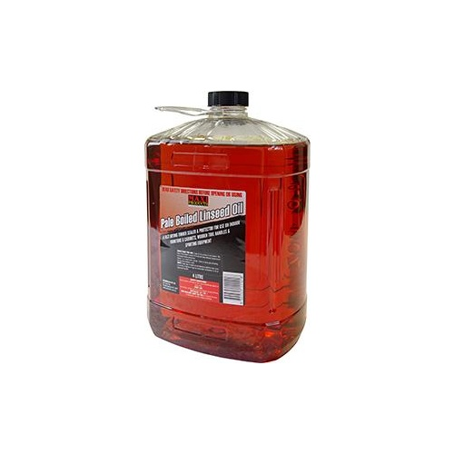 Linseed Oil Boiled Maxi 4Lt