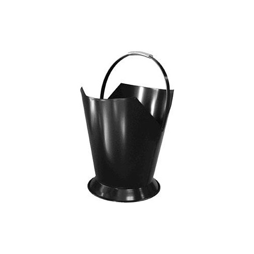 Firewood Bucket Tapered Blk