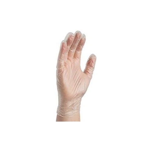 Gloves Vinyl Clear Extra Large Pk10 0