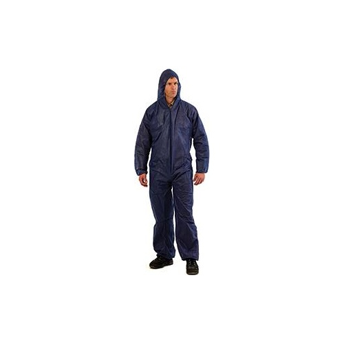 Coveralls Disposable X Large Blue