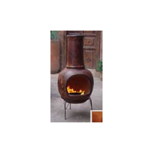Chimenea Red Large 55x130cm