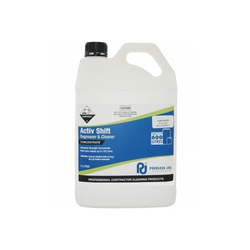 ACTIV SHIFT HD Cleaner Degreaser Low Foam 5lt