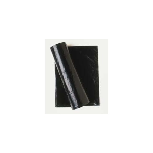 Bag Rubbish Bin All Purpose 240lt Black Roll 25, 8 rolls per carton