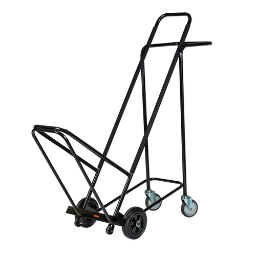 Wagen Chair Trolley with Outrigger Black