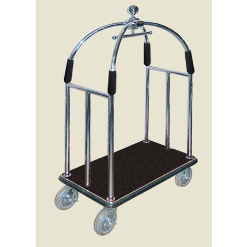 Trolley Birdcage Luggage SS 304 With brake 38mm H1900xL1080xW650