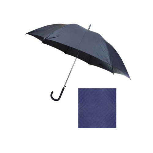 Umbrella Rain Auto Poly Navy Blue
