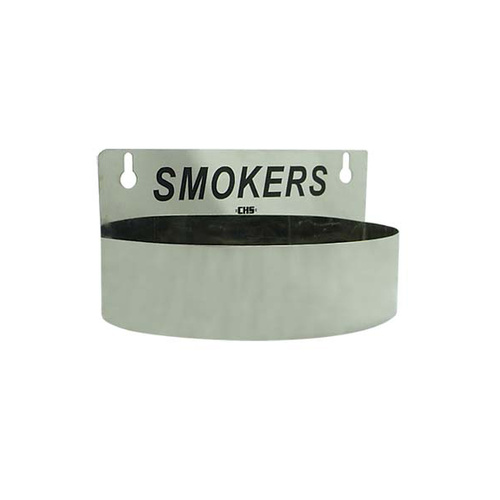 Ashtray Smokers Wall mount SS