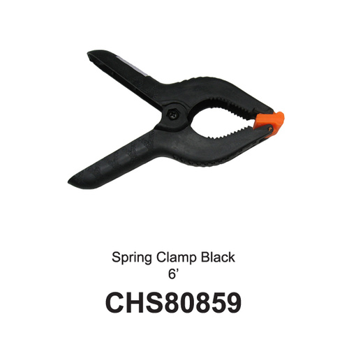 Spring Clamps Black/Orange 6'