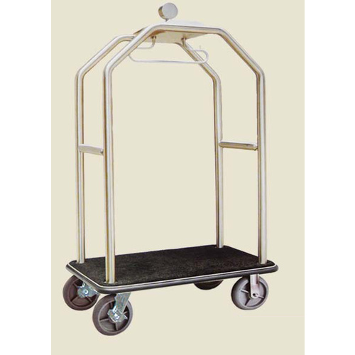 Trolley Birdcage Luggage SS304 With Brake 50mm H1910 L1140 W670