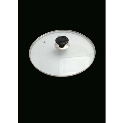 Glass Lid with steamhole 24cm
